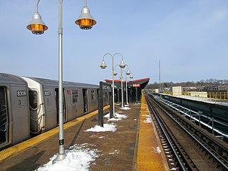 Atlantic Avenue station (BMT Canarsie Line) New York City Subway station in Brooklyn