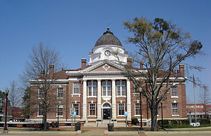 National Register of Historic Places listings in Candler County, Georgia - Image: Candler County Courthouse