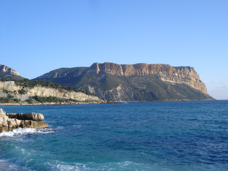 Cap Canaille - Cap Canaille viewed from the west