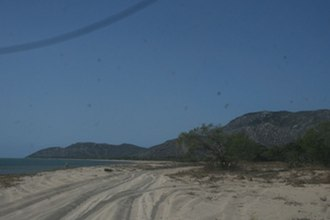 Cape Melville - Beach at Cape Melville