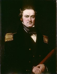 Captain William Edward Parry (1790-1855), by Charles Skottowe.jpg
