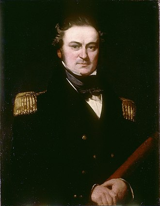 William Parry (explorer) - Image: Captain William Edward Parry (1790 1855), by Charles Skottowe