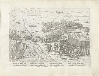 Lenaert Jansz de Graeff - Image: Capture of Brielle, April 1 1572 (Frans Hogenberg)