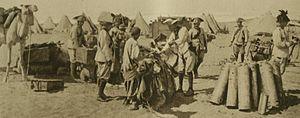 Carabineri in Palestine - cockhats