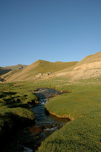 Kyrgyzstan - Silk road caravansarai utilized during the Islamic Golden Age