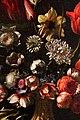 Carlo dolci, vaso di fiori in un vaso con stemma medici e bacile di ceramica, 1662, dipinto per la morte del card. giovan carlo 02.jpg