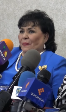 Carmen Salinas in an interview on 2 June 2017.png