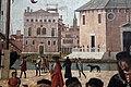 Carpaccio, storie di s.orsola 01 Arrivo degli ambasciatori inglesi alla corte del re di Bretagna, 1495 circa, 07.JPG