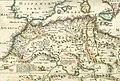 Carte de la Régence d'Alger en 1650 (Algérie) et du Royaume de Fès.jpg