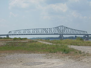 Caruthersville Bridge - Image: Caruthersville Bridge 1