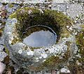Carved stone bowl, Monkcastle.JPG