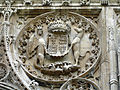 Carving over south door, King's College Chapel.jpg