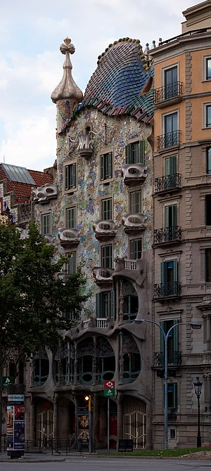 Casa Batlló - Image: Casa Batllo