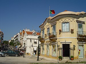 Centre of Cascais.