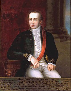 Francisco Marcó del Pont Royal Governor of Chile