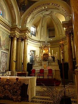Castellazzo Bormida-santuario della Creta-altare maggiore