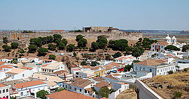 View of Castro Marim
