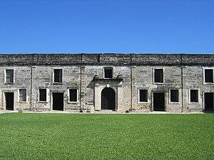 Castillo de San Marcos Fort Wall