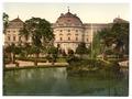 Castle and fountain, Wurzburg, Bavaria, Germany-LCCN2002696198.tif