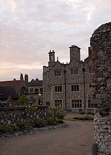 Old Palace, Canterbury Grade I listed building in the United Kingdom