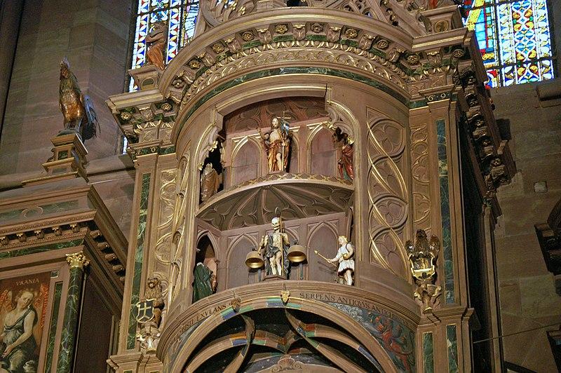 File:Cathedrale de Strasbourg - Horloge Astronomique - Details.jpg