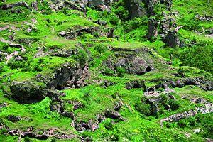 "Geology of Armenia - Caves of Tegh, Armenia (""Cave City"")"