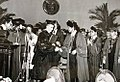 """Ceausescu as """"Doctor of Laws"""", Honoris Causa from the University of the Philippines.jpg"""