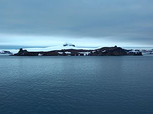 Aitcho Islands (South Shetland Islands) - Cecilia Island from English Strait.