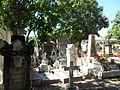 Cementerio con tumbas de distintas épocas.JPG