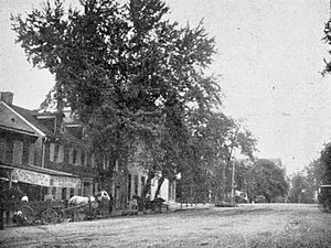 Lebanon, Pennsylvania - Central Square in Lebanon, 1895