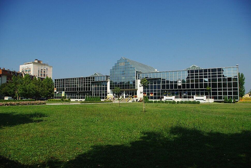 Central bus station in Loznica