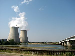 Belleville-sur-Loire - The nuclear plant at Belleville