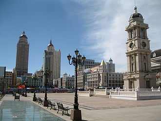 Manzhouli - Manzhouli city centre