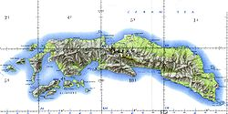 Ceram and Ambon Islands (Operational Navigation Chart, 1967) Not for navigational use.