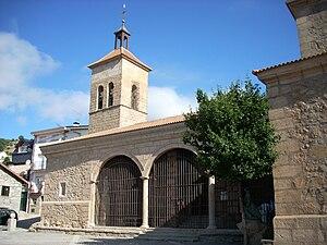 Cercedilla - Church of St. Sebastian.