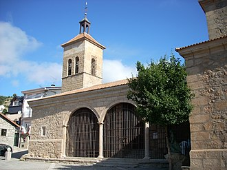 Cercedilla - Church of St. Sebastian.