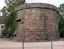Круглая башня, Cernay