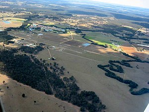 Cessnock, New South Wales - Aerial photo of countryside around Cessnock