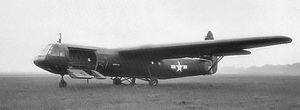 RAF Welford - Horsa glider at Welford, May 1944.