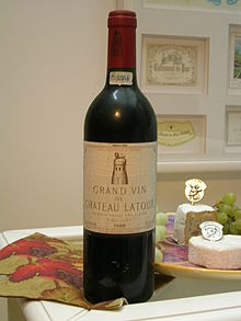 photo vin chateau latour 1886
