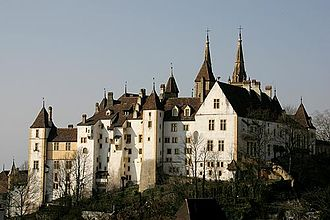Canton of Neuchâtel - Neuchâtel Castle, now seat of the cantonal government