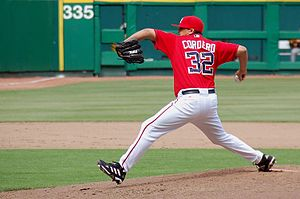 Chad Cordero - Cordero with the Washington Nationals