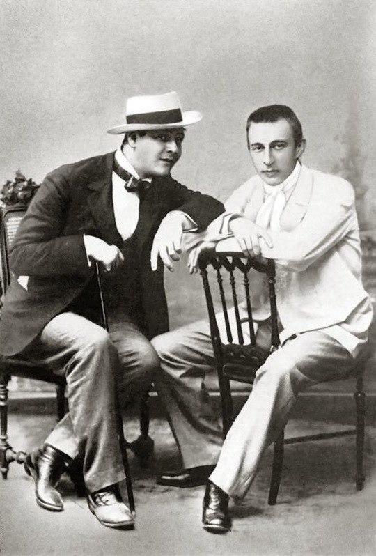 Chaliapin and Rachmaninoff