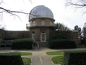 Equatorial room - The equatorial room at the University of Illinois Observatory