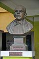 Chandrashekhar Bag - Bust by Sukumar Pramanik - Gopalpur High School - Mahisadal - East Midnapore 2015-09-18 3842.JPG