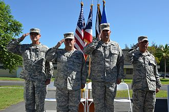1st Air Base Group - Change of Command 2015