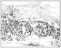 Charles-Alexandre Steinhäuslin 16 - Unités de la deuxième division en marche près de Littau (24.11.1847).jpg