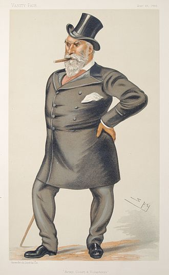 Charles Lindsay - Caricature by Spy published in Vanity Fair in 1882.