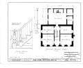 Charles Miller House, County Line Road, Menomonee Falls, Waukesha County, WI HABS WIS,67-MENFA.V,1- (sheet 2 of 6).png