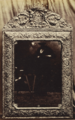 Charles Thurston Thompson, Late seventeenth-century silver repoussé mirror, attributed to Gerrit Jensen, d. 1715, 1853, Albumen silver print, 21.6 x 14.7 cm, MoMA, 195.2014.png